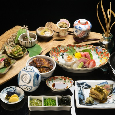 鰻う おか冨士 - 名古屋のひつまぶし・うなぎ料理専門店 -の夜のご宴会コース