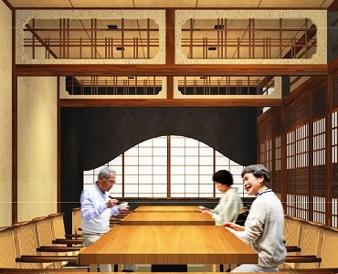 鰻う おか冨士 名古屋のひつまぶし・うなぎ料理専門店の店内個室