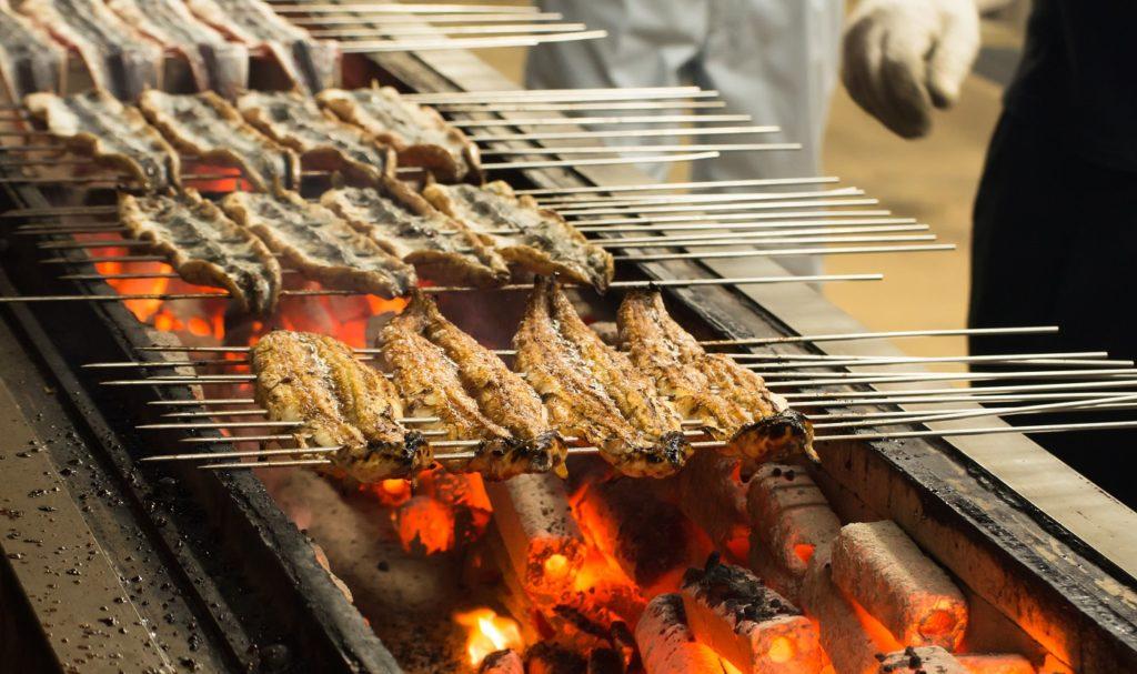 幻の青鰻・和食によく合う日本酒や焼酎