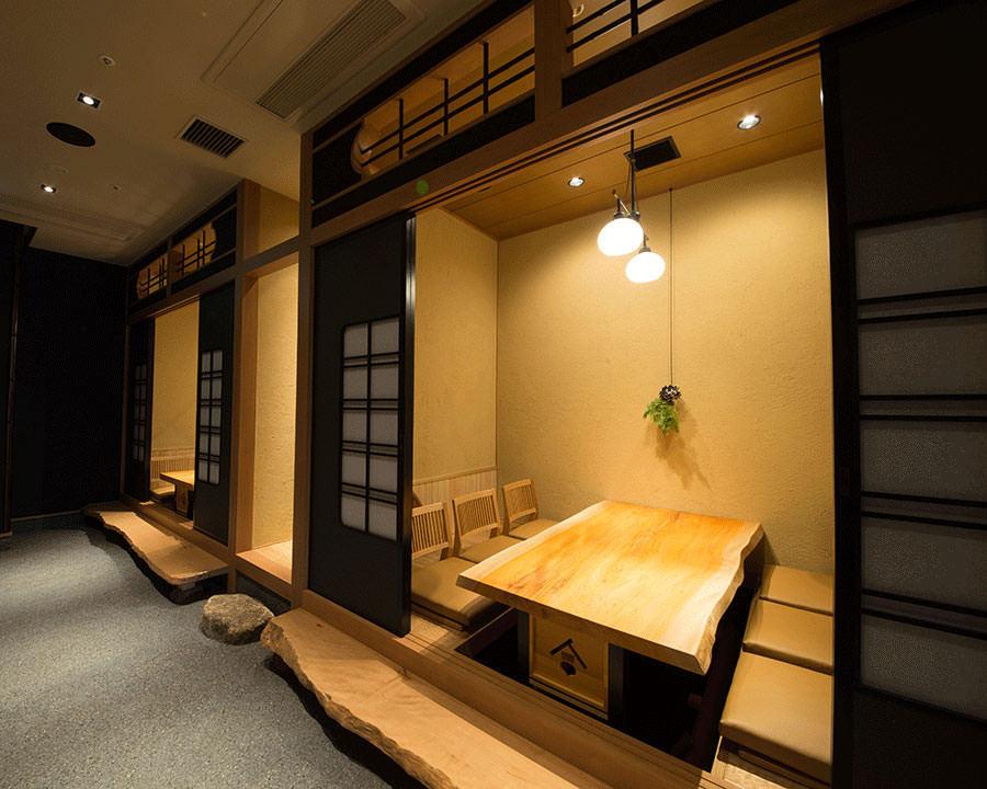 大切なシーンを過ごすなら上品な空間が広がる個室席