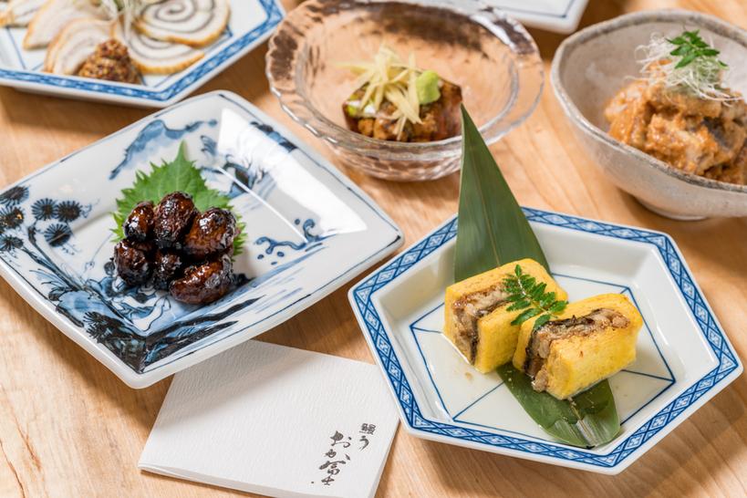 日本酒やお好みのお酒と合わせていただきたいうなぎの逸品料理